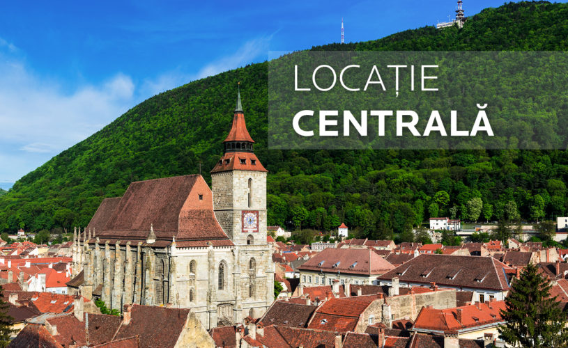 Locație Centrală pentru Hotelul Belfort din Brașov