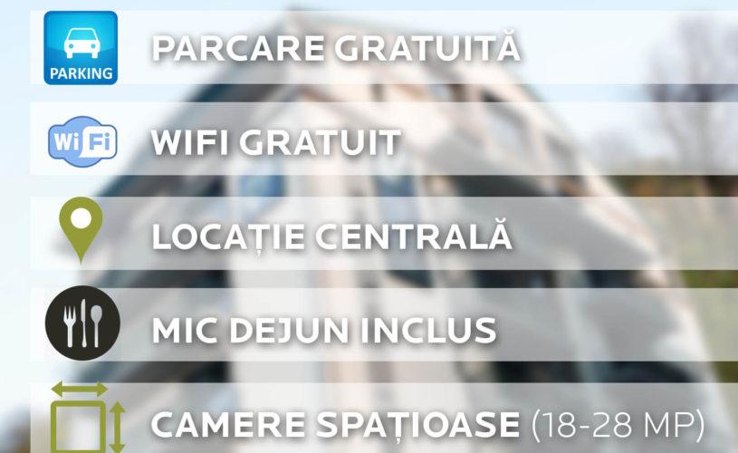 Facilități la Hotelul Belfort din Brașov