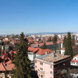 Panoramă lângă Belfort Hotel Brașov